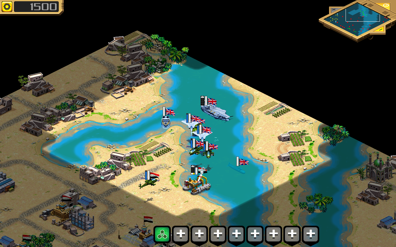 Desert Stormfront LITE - RTS - screenshot