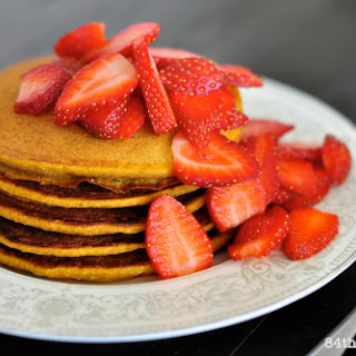 Spiced Pumpkin Pie Pancakes.