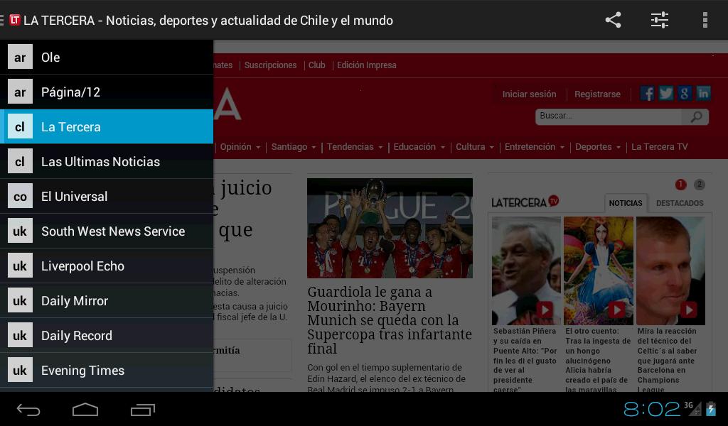 Neonews Nicaragua - screenshot