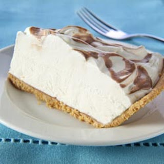 Coffee-Drizzled Cream Cheese Pie Recipe