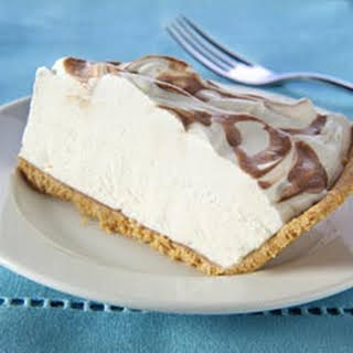Coffee-Drizzled Cream Cheese Pie.