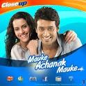 Closeup Mauke Achanak Mauke logo