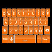 Orange Keyboard Skin