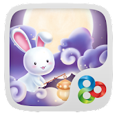 Moonie GO Launcher Theme