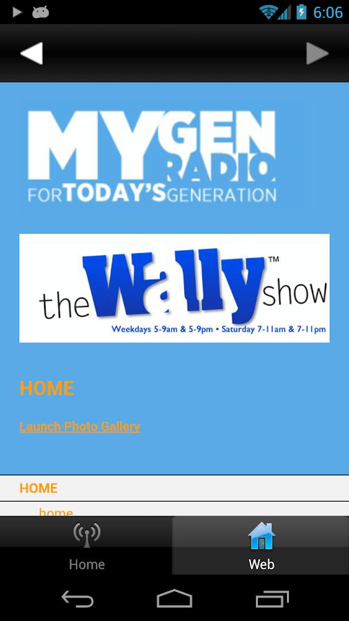 MYGEN RADIO - screenshot