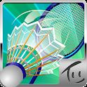 羽毛球 3D icon