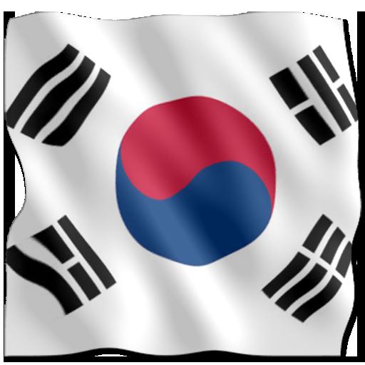 3D Flag Korea LWP LOGO-APP點子