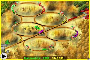 Screenshot of Railway Game