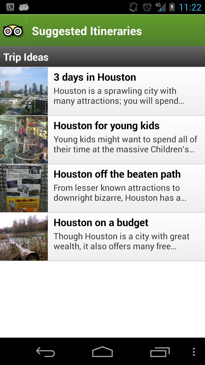 Houston City Guide screenshot #4