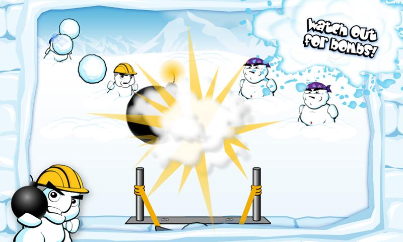 SnowBomber Lite - screenshot