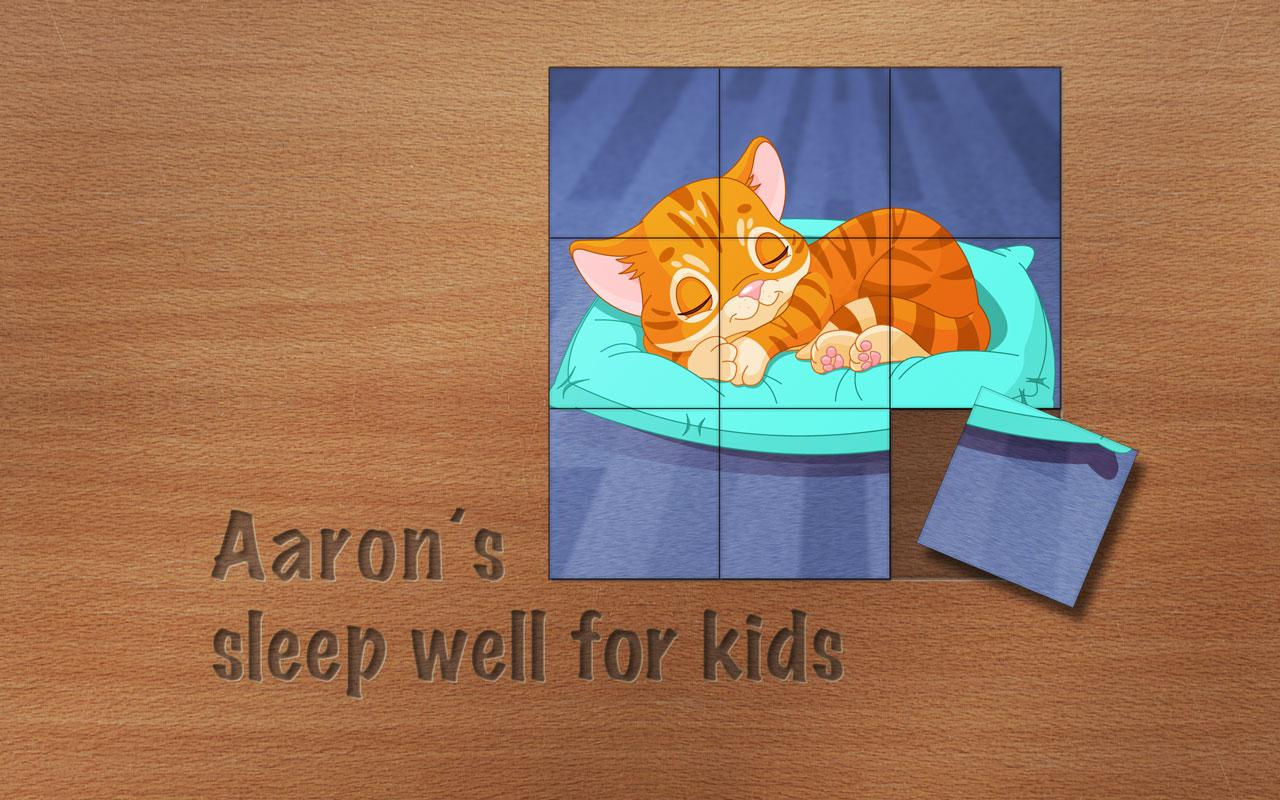 Aaron's sleep well for kids- screenshot
