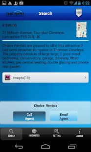 Choice Rentals- screenshot thumbnail