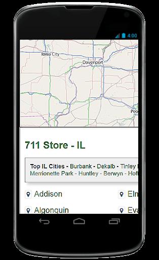 the 711 Locator