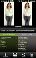 Screenshot of Weight Loss