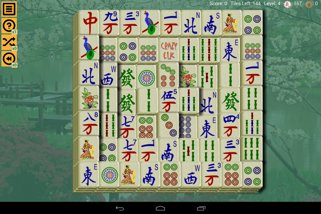 Mahjong Solitaire Crazy Elk- screenshot