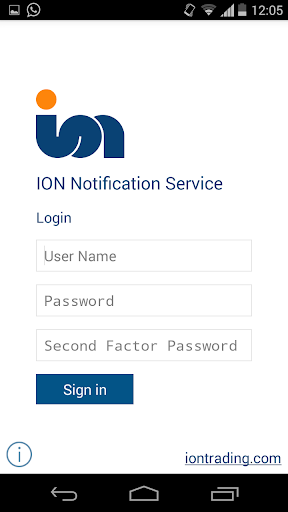 ION Notification Service