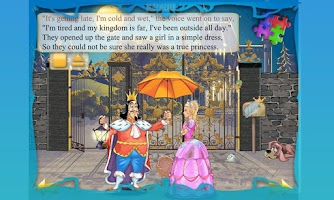 Screenshot of Princess and Pea Book for Kids