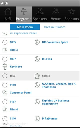 【免費商業App】Altfi Summit NYC 2014-APP點子