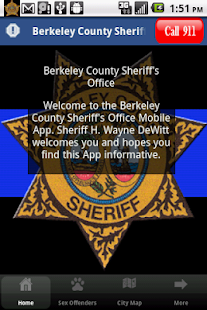 Berkeley County Sheriff- screenshot thumbnail