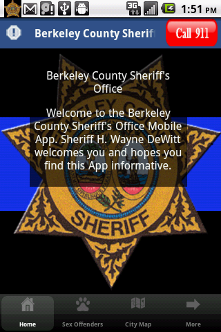 Berkeley County Sheriff - screenshot