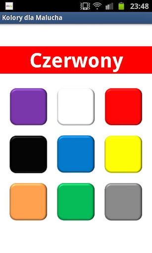 Learn Colors in Polish PL