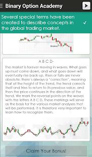 Binary option trading rules