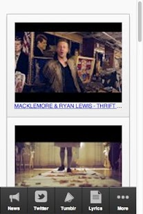 Macklemore Ultimate Fan App - screenshot thumbnail