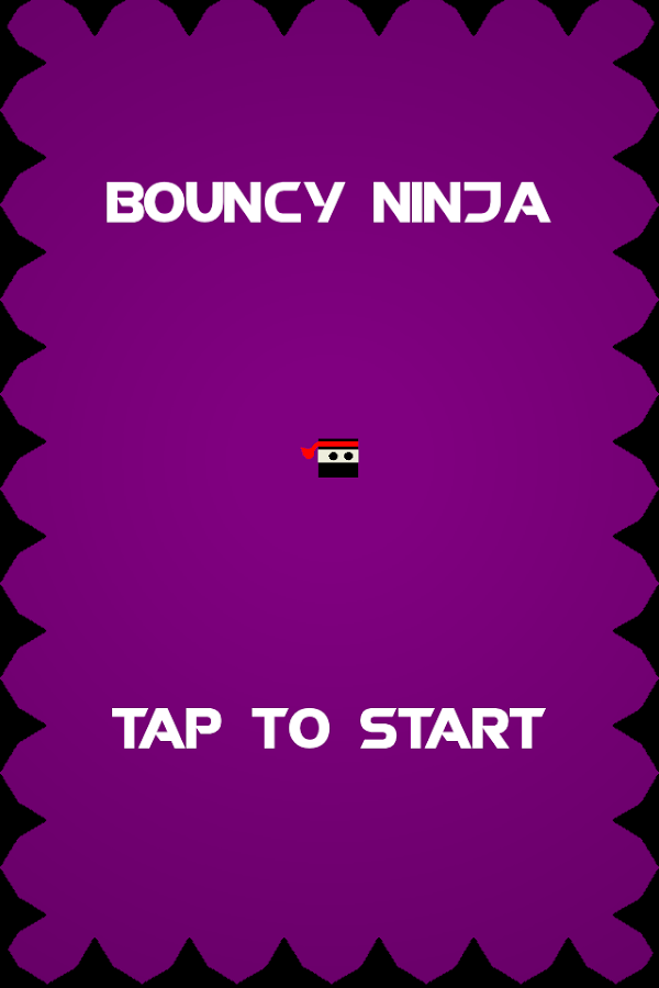 Bouncy Ninja- screenshot