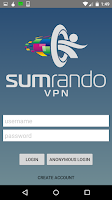 Screenshot of SumRando VPN