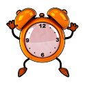 Comic Alarm Clock Widget icon