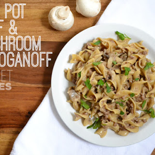 One Pot Beef & Mushroom Stroganoff