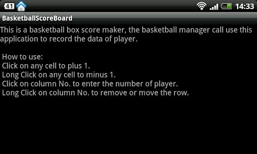 Basketball Boxscore Maker- screenshot thumbnail