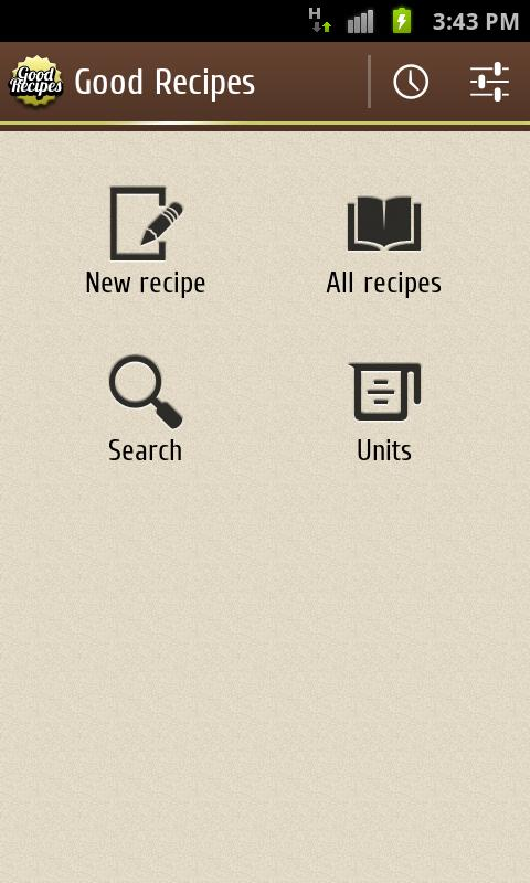 Good Recipes- screenshot
