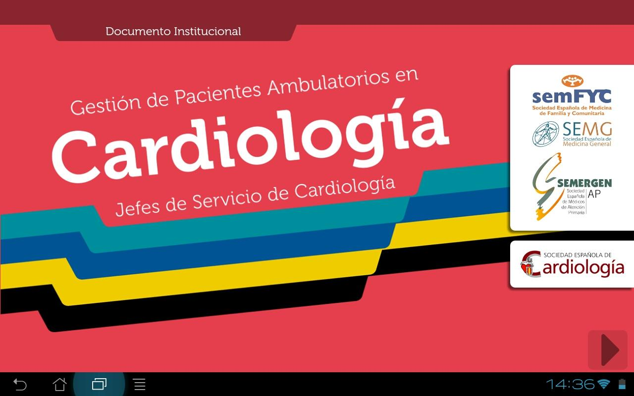 Gestión pacientes amb. Cardio- screenshot