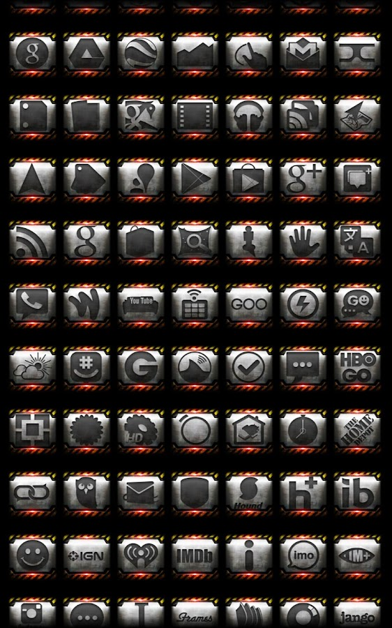 Icon Pack - Industrial - screenshot