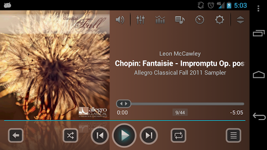 jetAudio Music Player Basic - screenshot thumbnail