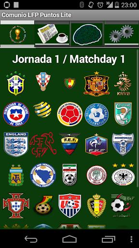 Comunio巴西世界杯积分