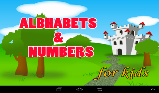 Alphabets Numbers for Kids