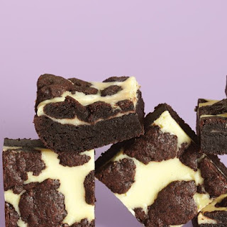 Black-and-White Cheesecake Squares
