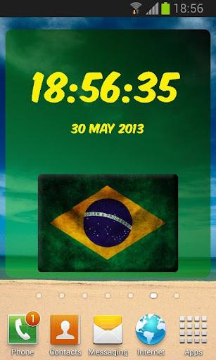 巴西數字時鐘
