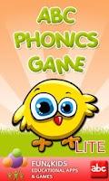 Screenshot of Kids Abc Phonics Game Lite