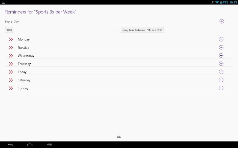 Habit Tracker Screenshot 14