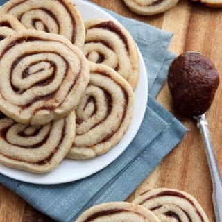 Apple Butter Pinwheel Cookies
