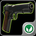 Shooting club icon