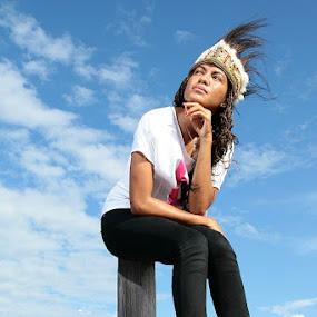 Papua Girl by Edwin Yepese - People Fashion ( fashion, model, people )