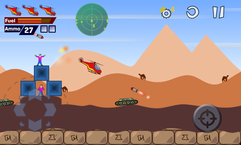 Red Copter- screenshot