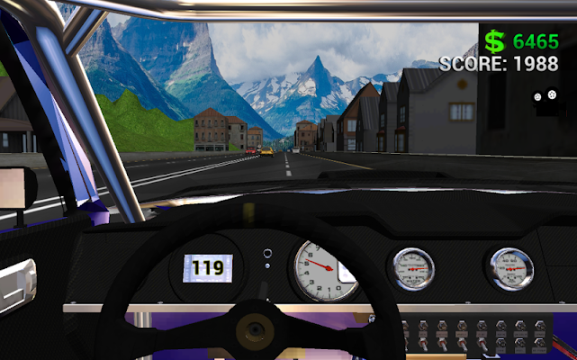 3D Traffic Racer v4 (Mod Money)