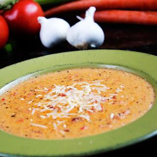 Tomato Basil Parmesan Soup