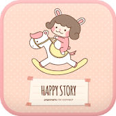 Happy story go locker theme