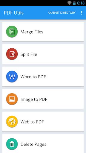 PDF Utils - Converter Editor